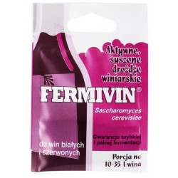 Fermivin Aktywne Drożdże Winiarskie